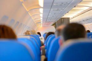 Flugzeug an Bord