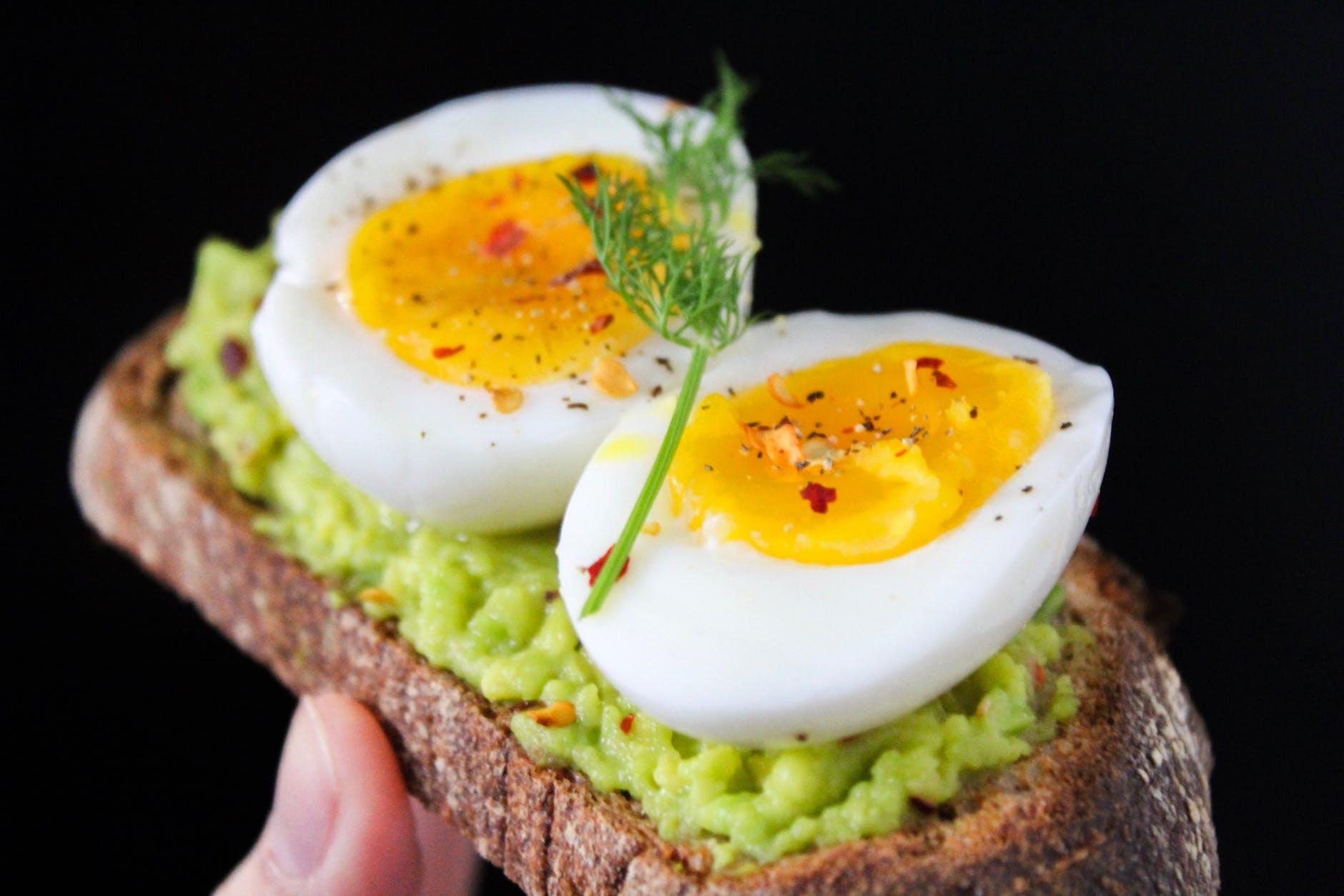 Eier sind Top-Eiweißlieferanten