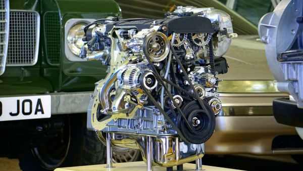 Ein Motor als Modell