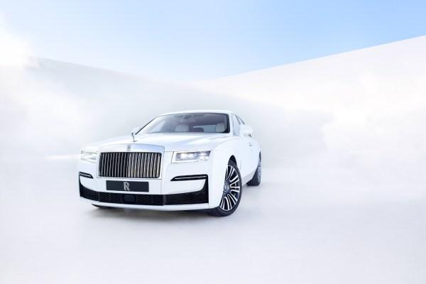 Der neue Rolls Royce Ghost von vorne.