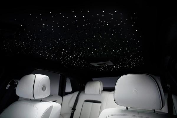 Der Sternenhimmel im Rolly Royce Ghost. © Rolls-Royce / TRD mobil