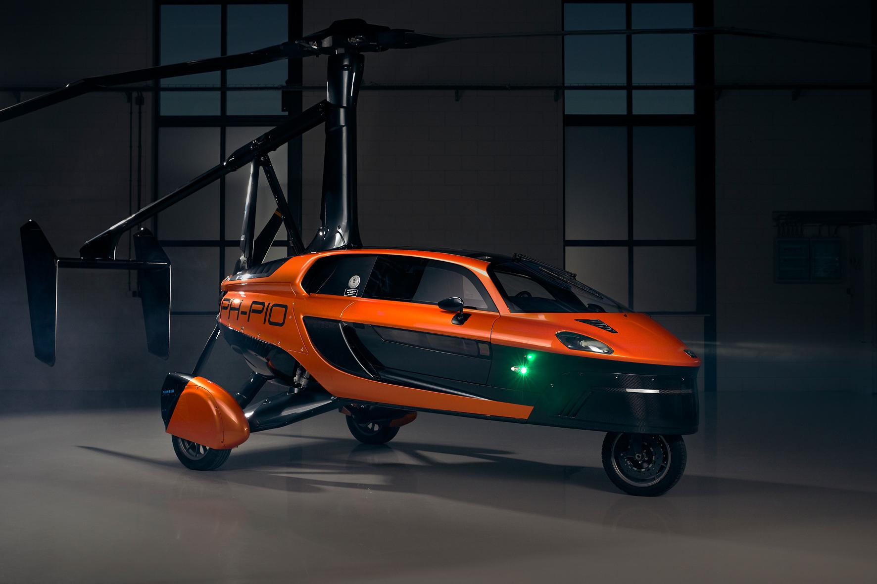 Jetzt kommt ein fliegender Holländer als Flugauto