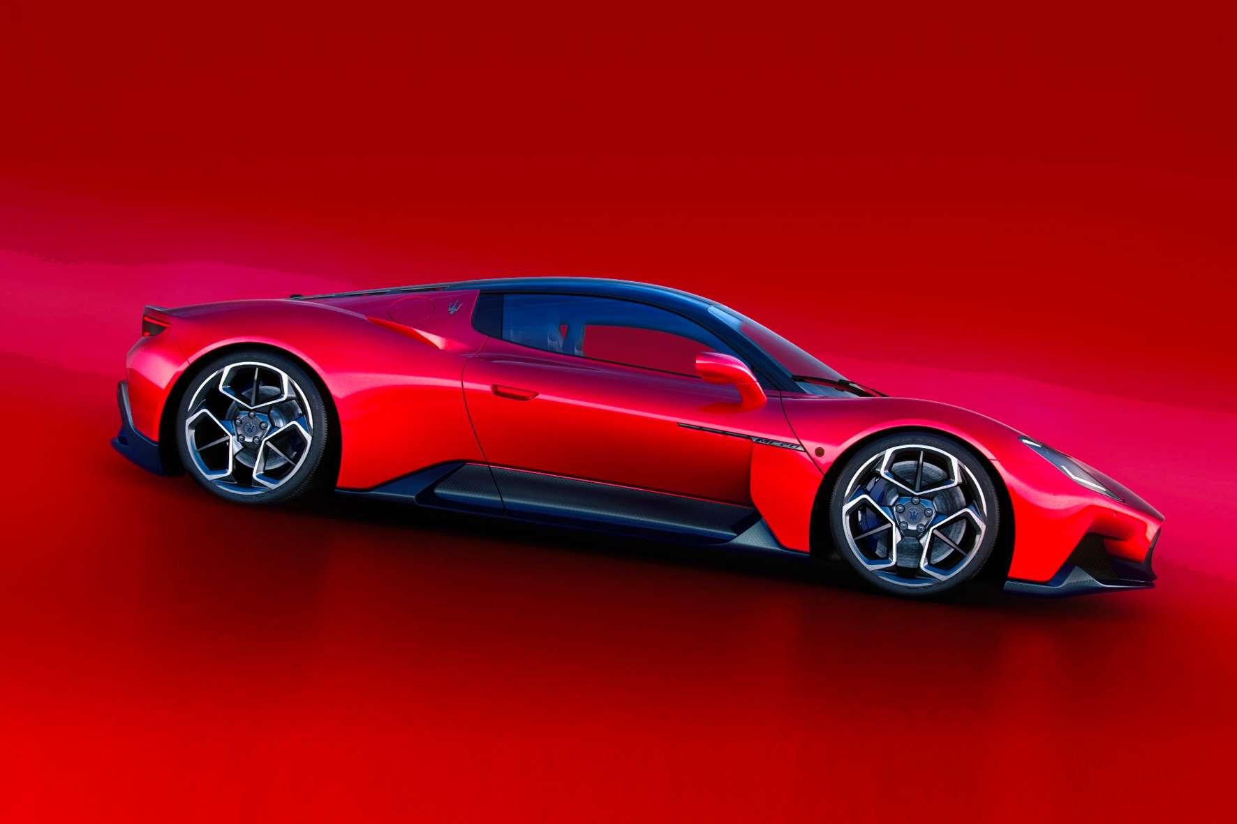 Neuheit aus der Sportwagen-Welt der italienischen Dreizack-Marke