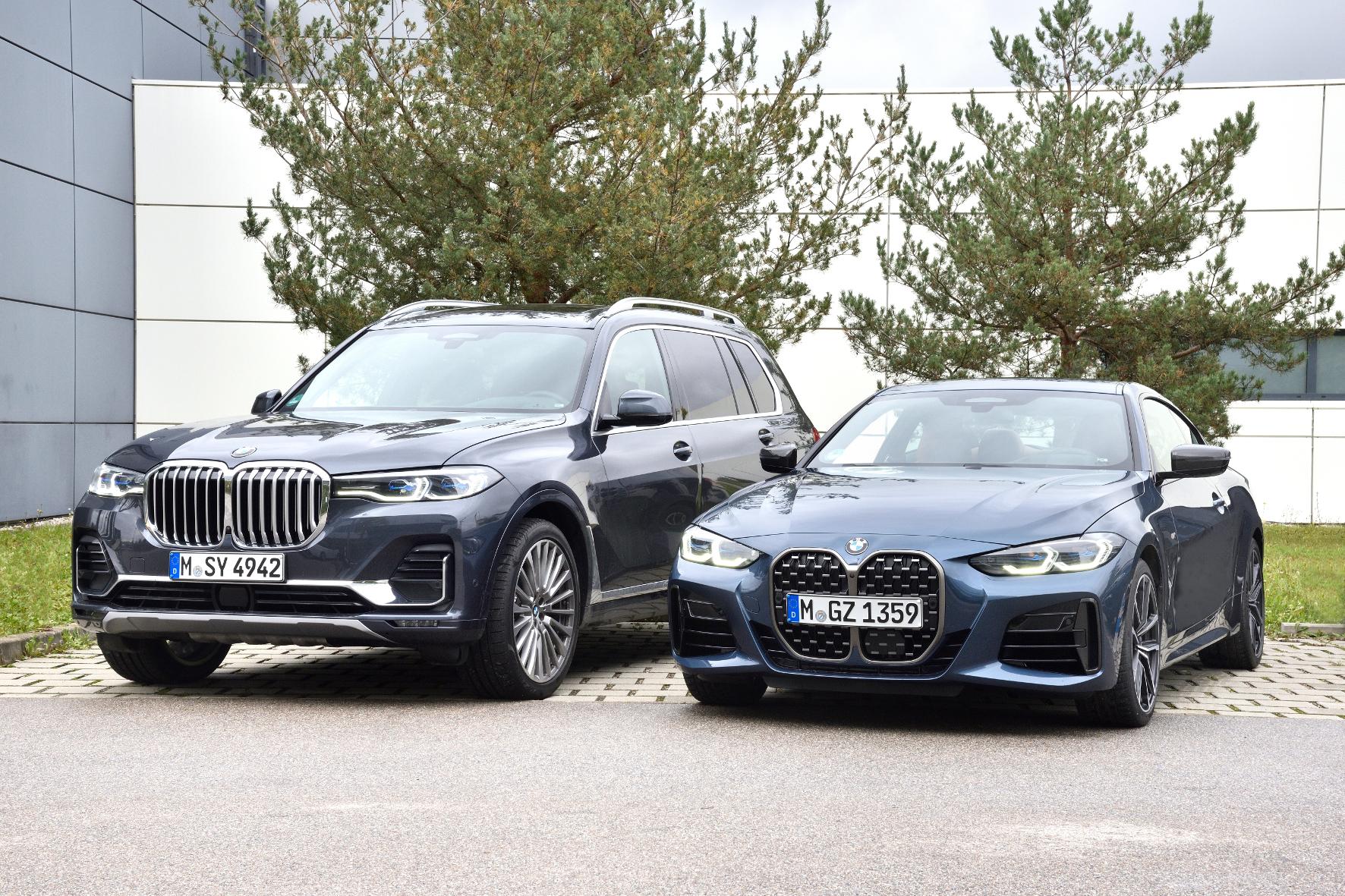 Gleicher Motor in zwei völlig unterschiedlichen bayerischen Autos