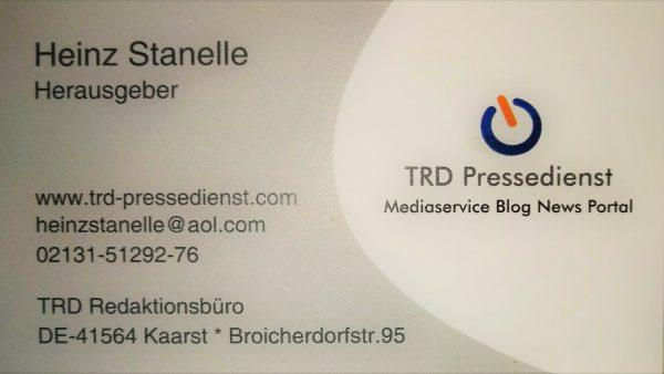Inhaber/Journalist / Berater Heinz Stanelle