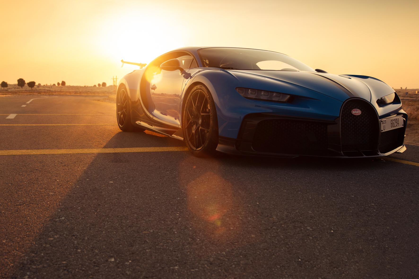Die ersten Bugatti-Kunden sitzen in Dubai