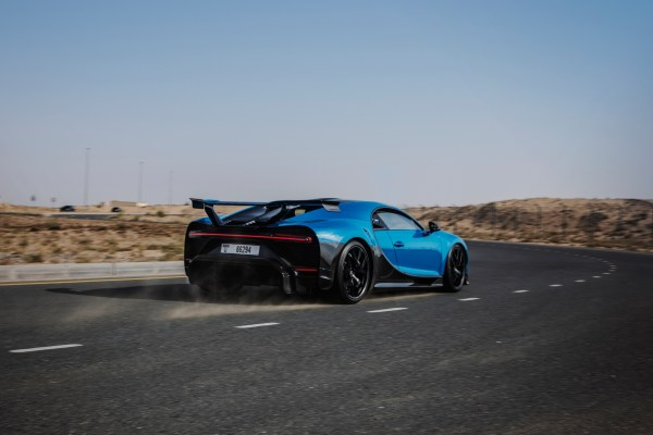 Kraftpaket: Acht Liter Hubraum, 16 Zylinder und 1.500 PS. In 2,3 Sekunden erreicht der Chiron Pur Sport Tempo 100. © Bugatti