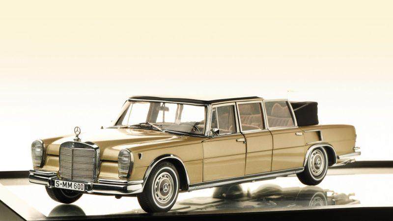"""Sieger in den Kategorien """"Sammeln 1:18 Klassik"""" und """"Supermodell des Jahres 2020"""": der Mercedes-Benz 600 Landaulet von CMC zum Preis von 908 Euro. © Modell Fahrzeug / TRD MOBIL"""
