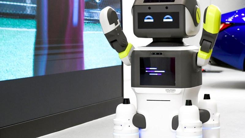 Roboter im TRD Pressedienst
