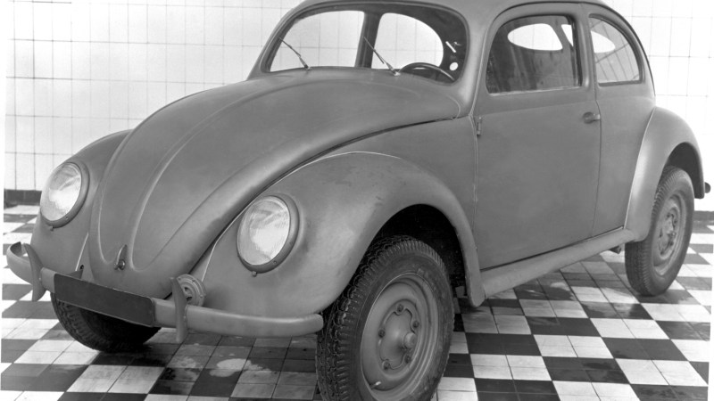 "Volkswagen Type 1, the ""Beetle""."