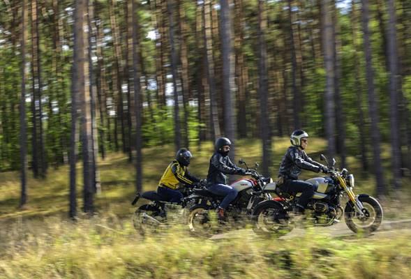 Naked Bikes mit knapp über 100 PS sind dabei Topseller. TRD Pressedienst/Polo Motorrad