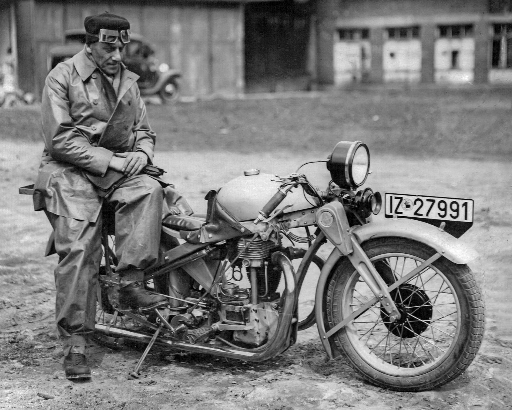 Das Universalgenie Ernst Neumann-Neander: Ein Revolutionär im Motorradbau