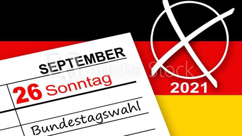 Kalender Sonntag 26. September Bundestagswahl 2021