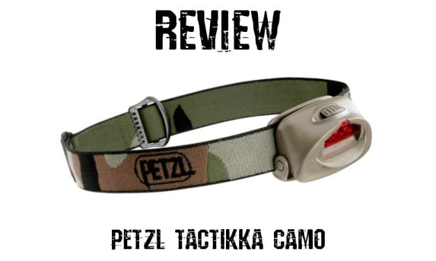 PETZL Tactikka Camo