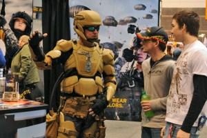 TALOS, l'armure balistique à exosquelette du futur de l'US Army (Source: science.dodlive.mil).