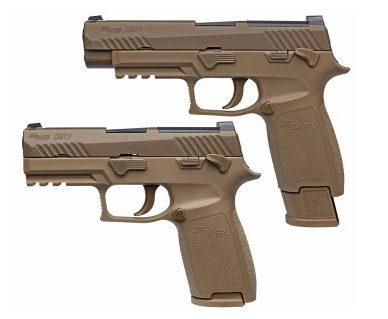 Sig Sauer P320 XM17 U.S. Army, le remplaçant du Beretta M9 (Source: sigsauer.com).