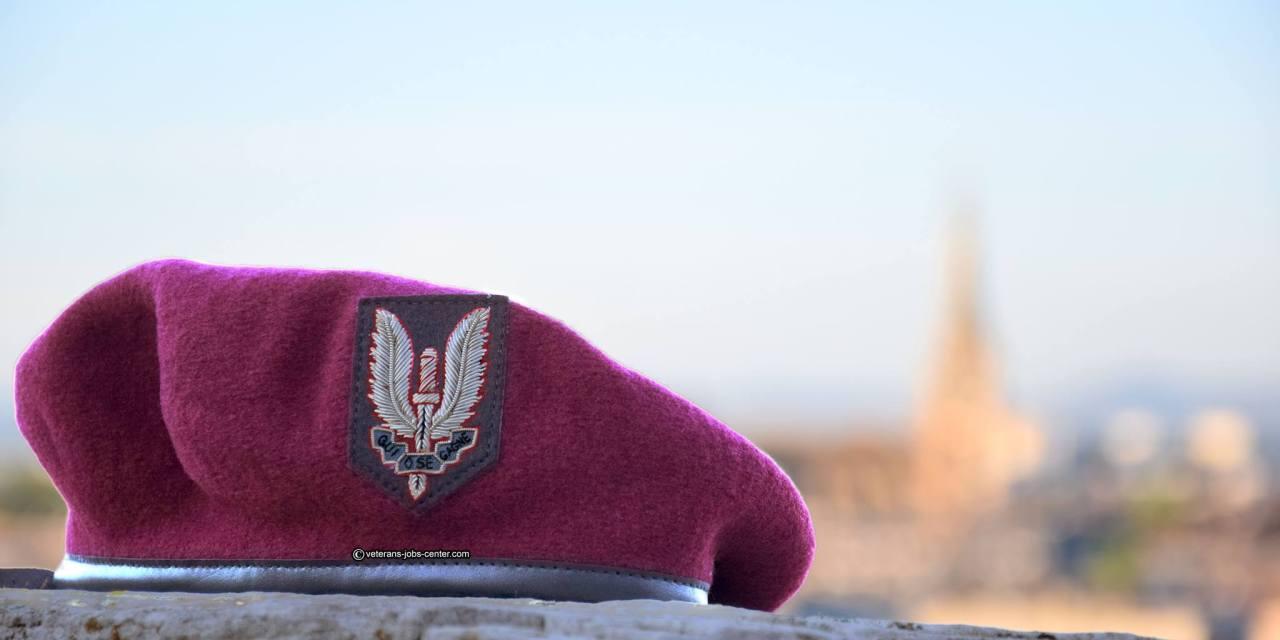 Nouvel ancien béret pour les SAS français