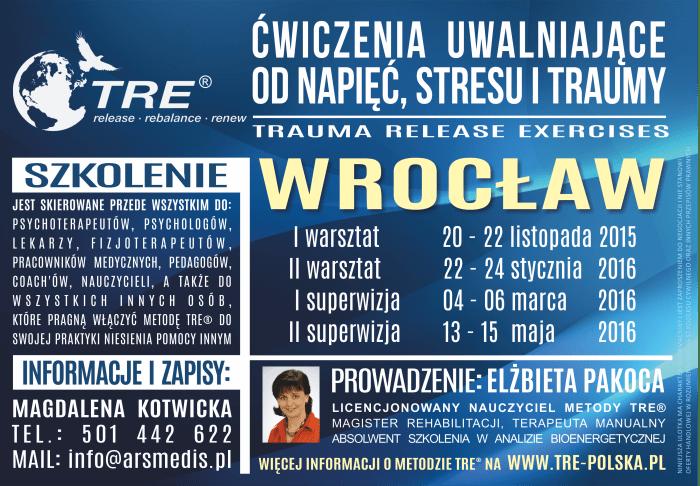 szkolenie tre - wrocław - plakat