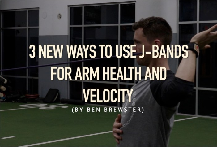 3 New Ways to Use J-Bands for Arm Health and Velocity