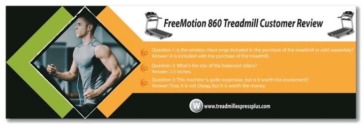 FreeMotion 860 Treadmill