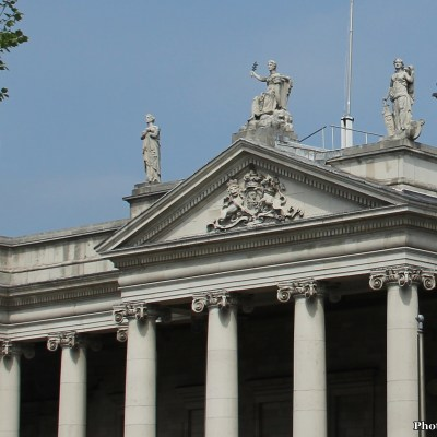 Bank of Ireland, once the Irish Houses of Parliament (House of Lords)