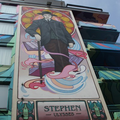 Mural of Ulysses charachter