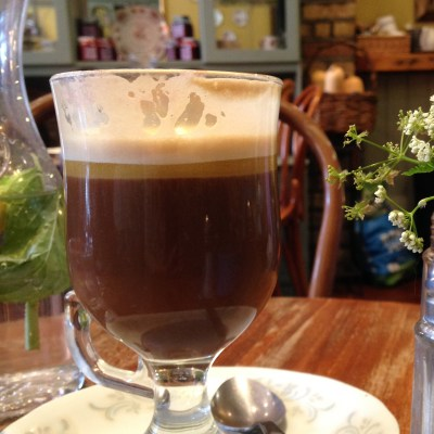 Irish Coffee at Queen of Tarts