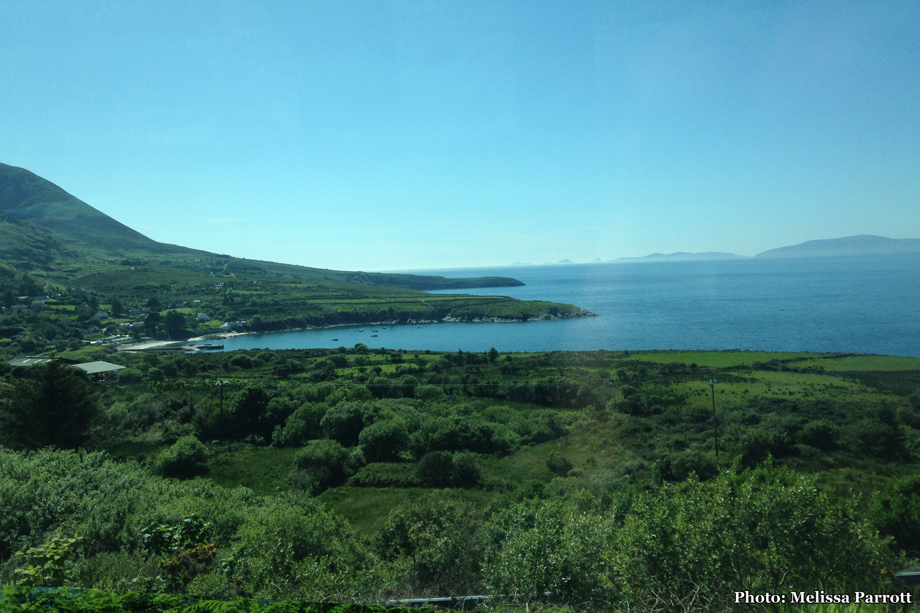 Ring of Kerry, approaching Kells Bay