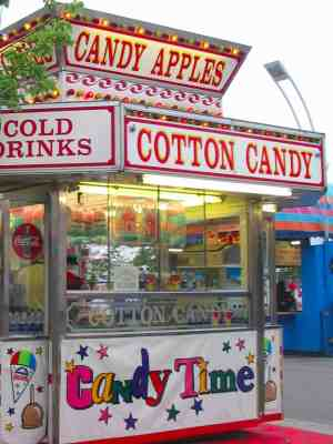 Smells and Memory Cotton candy stand
