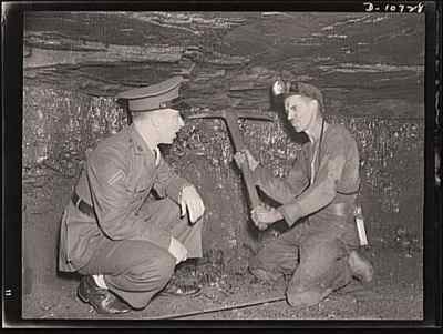 Family story miner or soldier