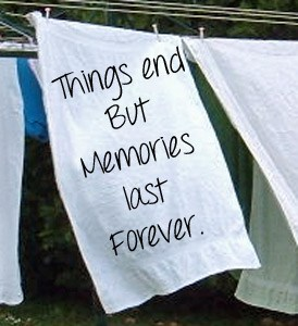 Your memories don't fade