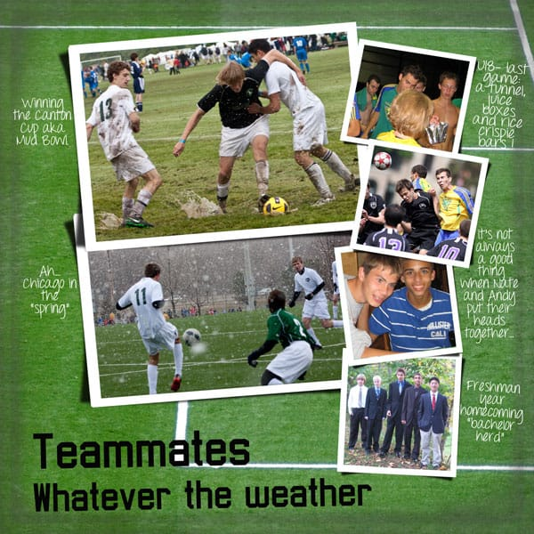 Special Moments sports memories