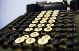 Changes in technolgy adding machine