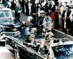 Right before John F Kennedy's Assassination