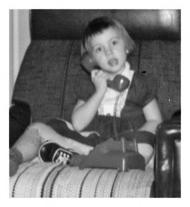 Voices from the past on the phone
