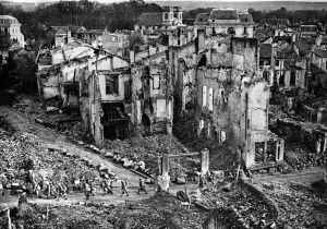 LIves of World War I dealing with devastation