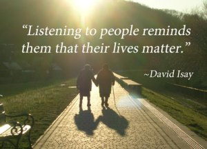 QUote from National Day of Listening founder David Isay