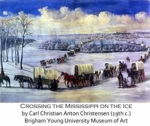 Fears Our Ancestors Faced - Crossing the Mississippi River