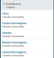 Ancestry.com's ethnicity estimates of by way of genetic communities