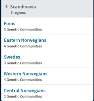 Ancestry.com's ethnicity estimates of by way of genetic communities