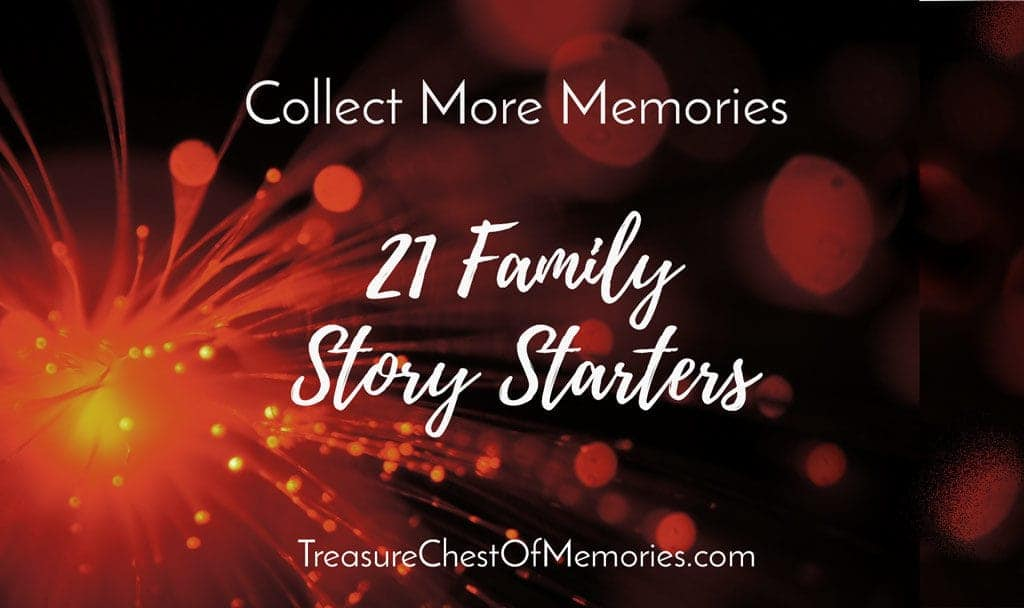 21 Family Story Starters Prompts