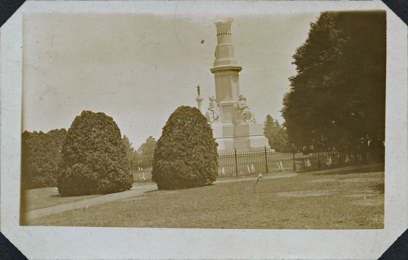 Cemetery Hill at 1913 Gettysburg Reunion