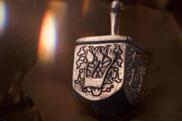 CHanukah Holiday Dreidel