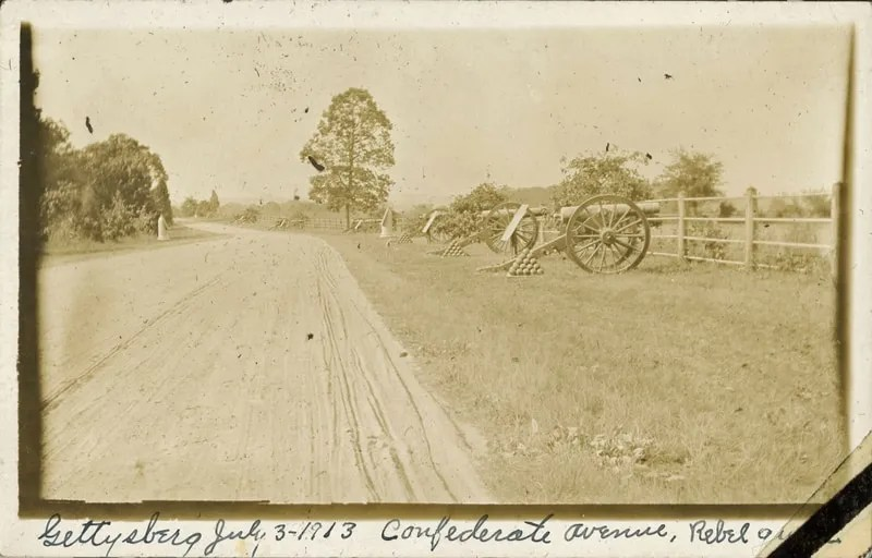 Confederate Avenue, 1913 Gettyburg Reunion