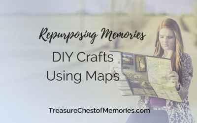 Repurposing Memories: DIY Projects Using Maps