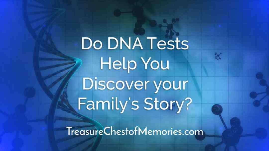 Do DNA tests help you discover your family's story? A graphic