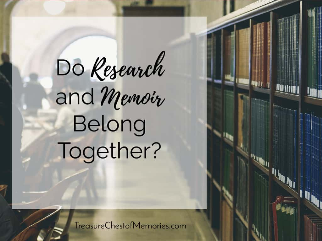 Do research and Memoir belong together?