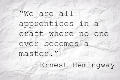 Quote from Ernest Heminway