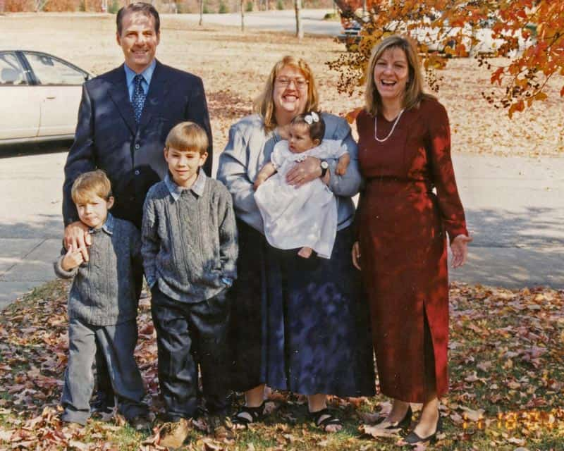 Fall Story Prompt a family baptism