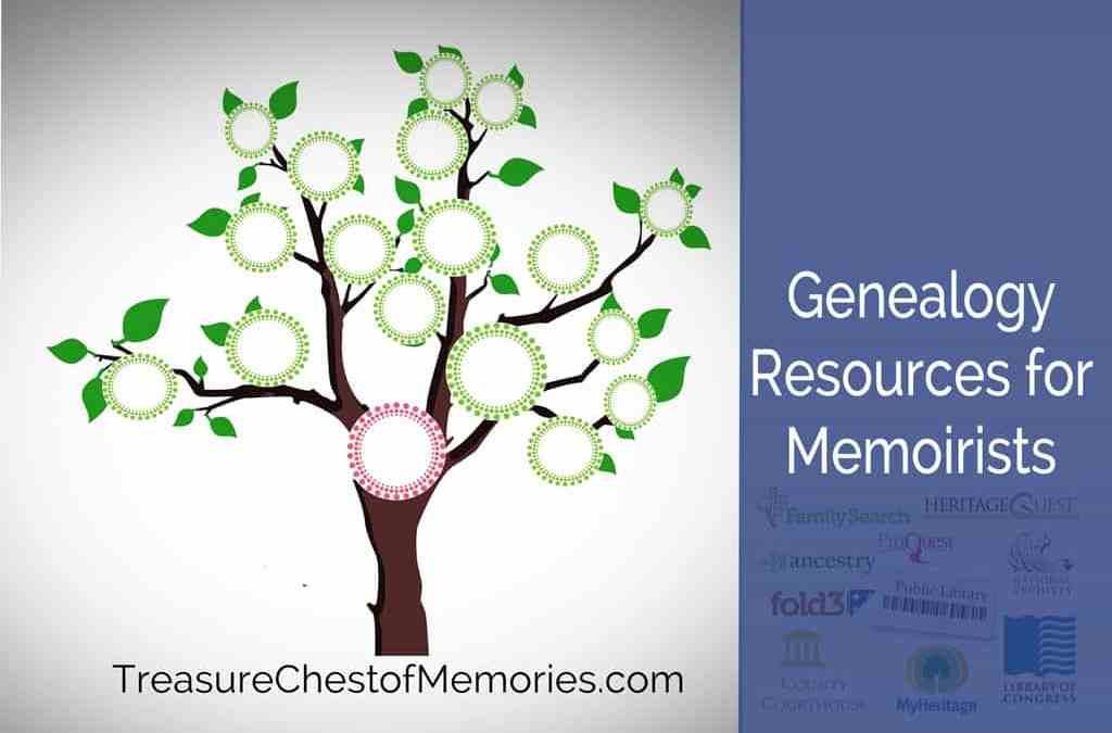 Useful Genealogy Resources for Memoirists